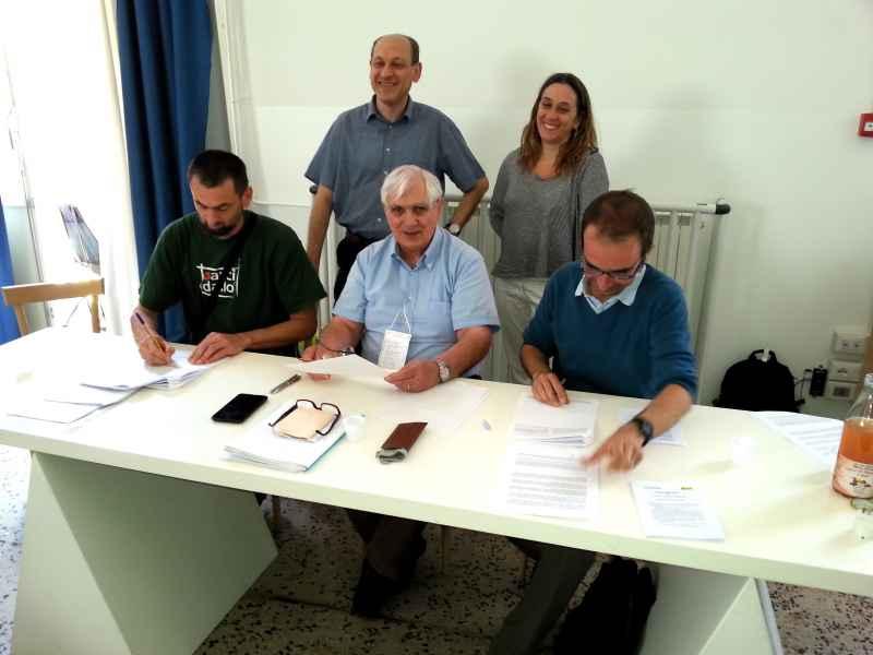 Accordo fiduciario con enostra INES Trieste firma