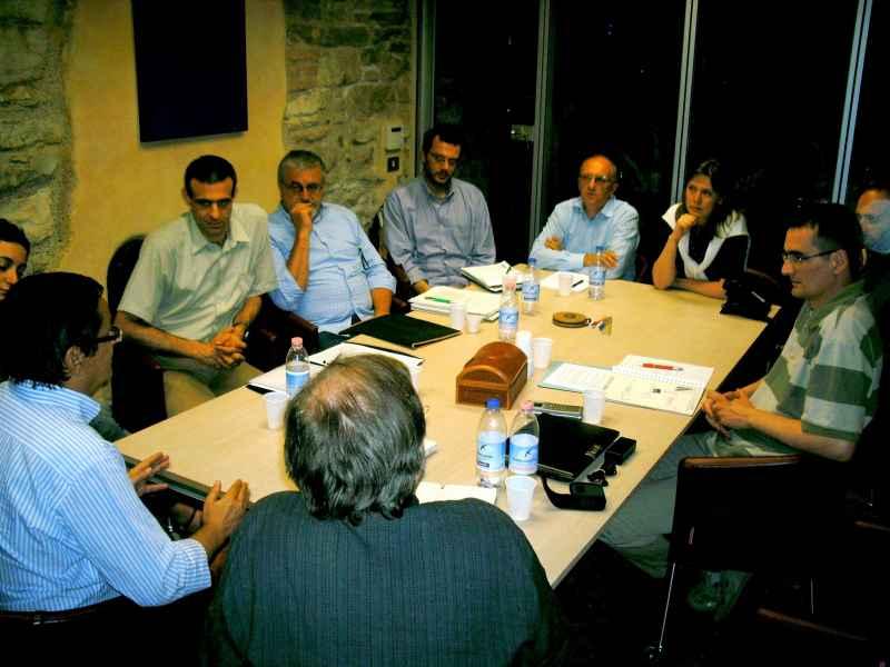 incontro con i vertici de La 220 a Gussago il 10 5 2008 2 JPG