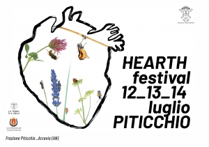 Hearth, il linguaggio e le vie della terra, dal 12 al 14 luglio a Piticchio