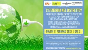 C'è energia nel distretto? Incontro on line l'11 febbraio