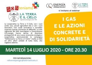 WEBINAR: I Gas e le azioni concrete e di solidarietà, 14 luglio ore 20,30