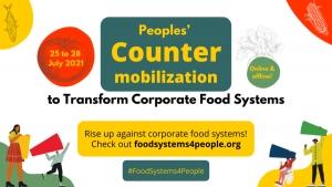 Contro il Summit sui Sistemi Alimentari delle Nazioni Unite