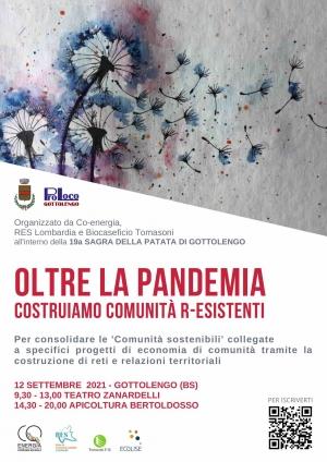 Costruiamo comunità r-esistenti, incontro a Gottolengo il 12 settembre